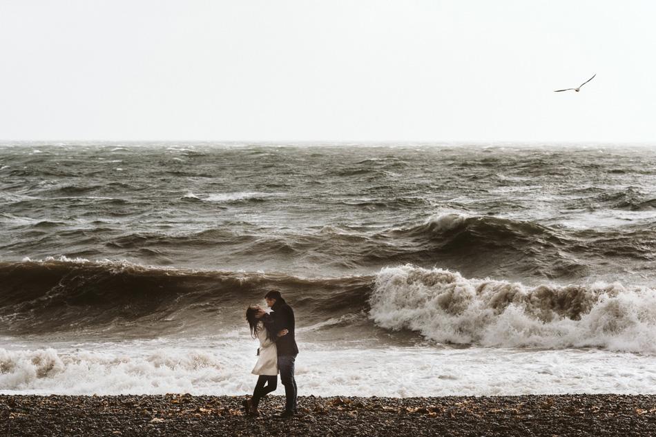 Sesja randkowa nad Morzem