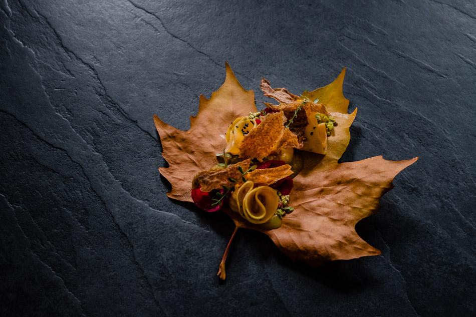 jesienna fotografia potraw w najlepszej bielskiej restauracji