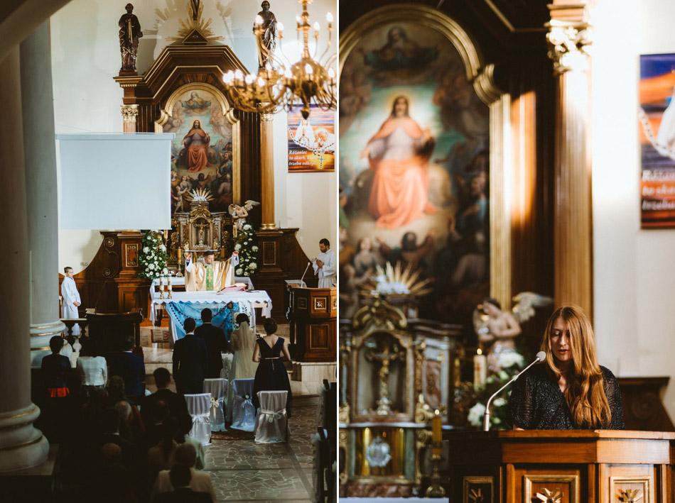 ceremonia ślubna w Jaworzu