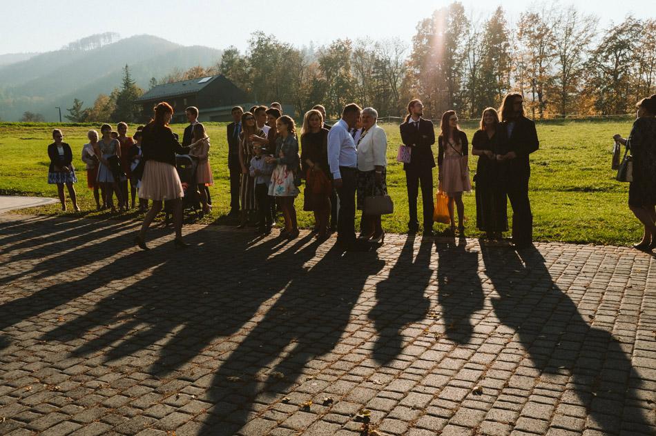 goście weselni w gościńcu Szumnym w Jaworzu
