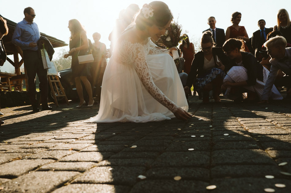 zbieranie pieniędzy po ślubie