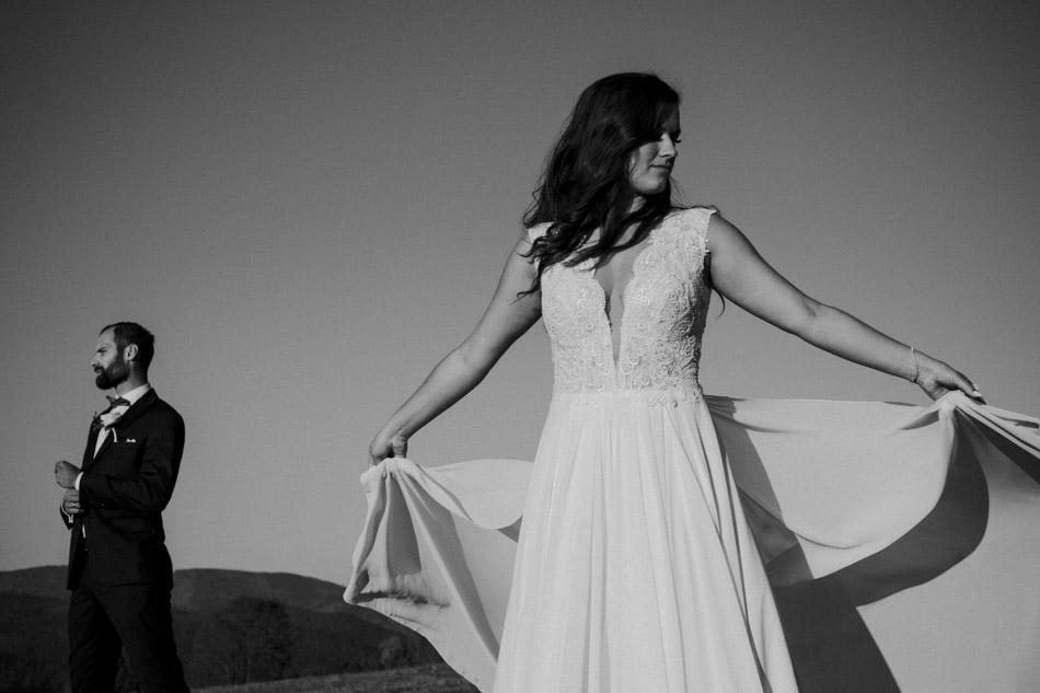portretowa sesja ślubna