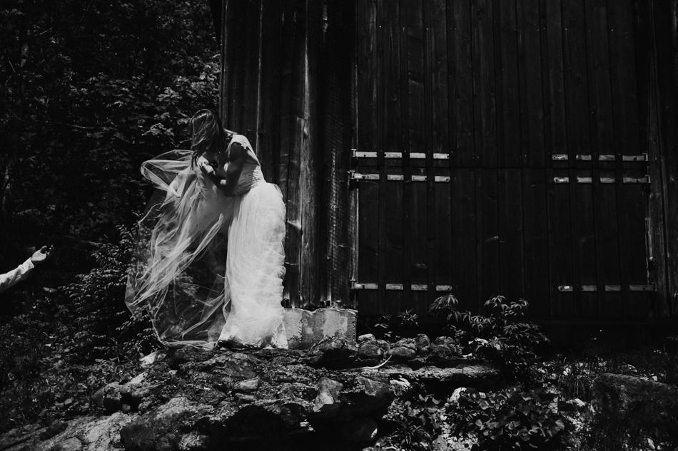Plener ślubny za granicą - austria alpy
