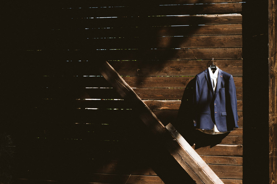 garnitur pana młodego na ślub rustykalny