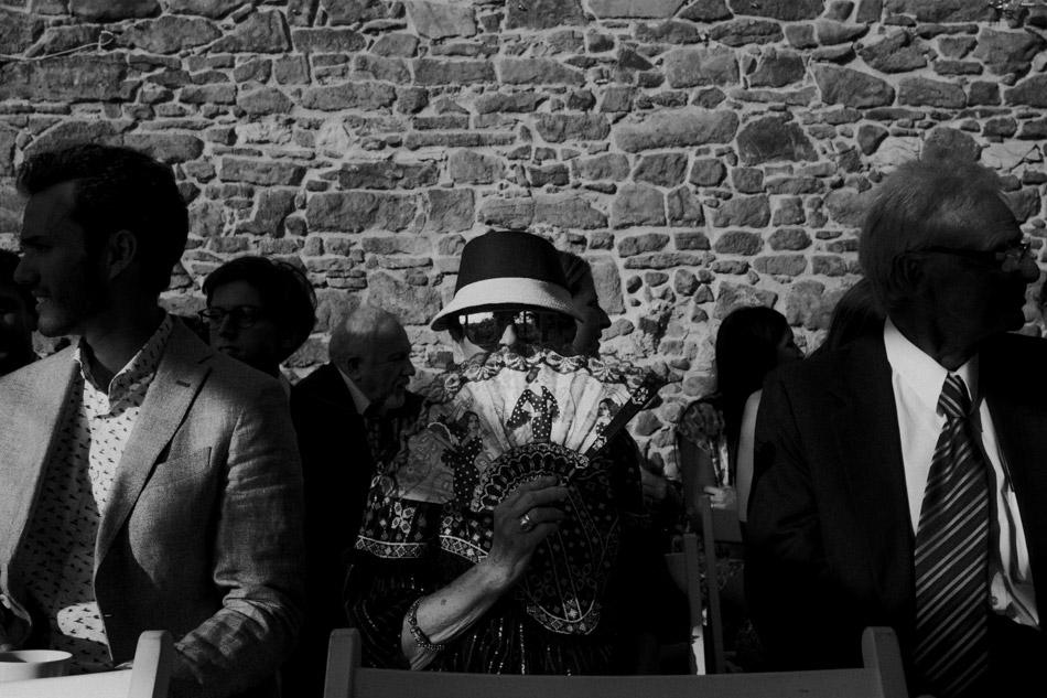 Goście podczas ślubu humanistycznego w Dolinie Cedronu