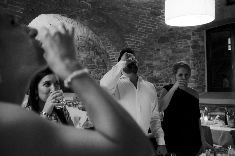 alkohol na weselu w Dolinie Cedronu