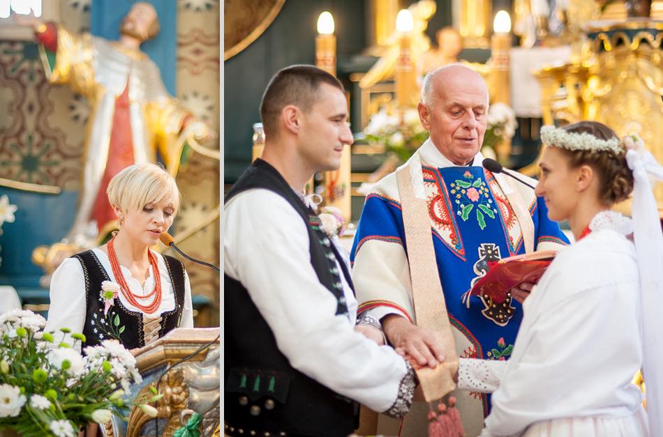 Ślub i wesele w stylu folkowym
